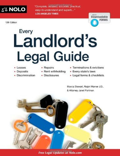 Every Landlord's Legal Guide, 10th Edition