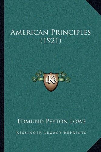 American Principles (1921)