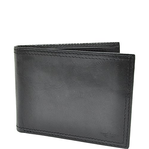 dockers-mens-extra-capacity-leather-bifold-wallet-black-one-size