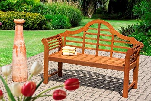 Gartenbank 3er aus Eukalyptusholz (Massiv) günstig online kaufen