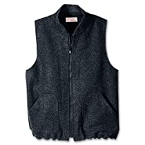 Filson Wool Heavyweight Zip-In Vest/Liner Charcoal - Large