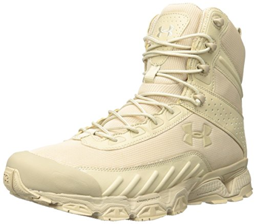 Under Armour - Botas tácticas, color beige, talla 42.5, UA1224003B-9