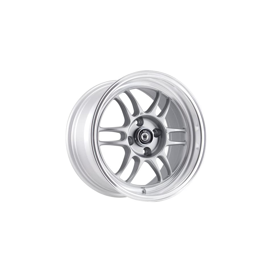 Konig Wideopen 15 Silver Wheel / Rim 4x100 with a 20mm Offset and a 73.10 Hub Bore. Partnumber WI5810020S