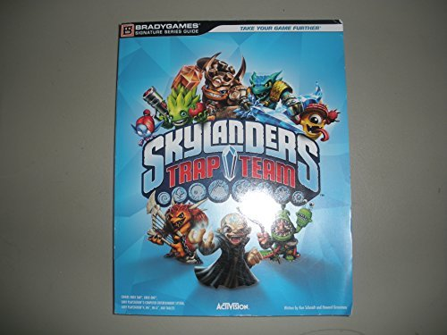 Skylanders Trap Team Brady Games Signature Series Guide by BradyGames (Author) (2014-08-01)