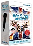 Cheapest We Sing Uk Hits 1 Microphone Bundle on Nintendo Wii