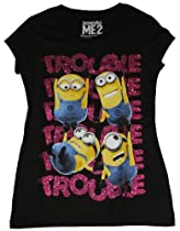 Despicable Me 2 Minion Trouble Graphic T-Shirt - 2XL