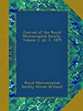 img - for Journal of the Royal Microscopical Society Volume 2, pt. 2, 1879 book / textbook / text book