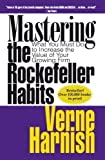 Mastering the Rockefeller Habits: What You Must Do to Increase the Value of Your Fast-Growth Firm by Verne Harnish ( 2002 ) Hardcover