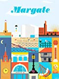 TRAVEL TOURISM MARGATE SEASIDE TOWN KENT ENGLAND UK SUN BEACH LIGHTHOUSE 30X40 CMS FINE ART PRINT ART POSTER BB9914