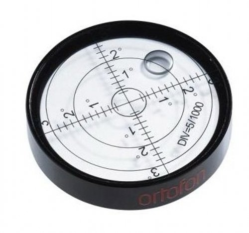 Aluminium Case Bullseye Spirit Bubble Surface Level Round Inclinometers for Surveying Instruments and Tribrachs, Ø60mm ,Accuracy 15'/2 from Preamer