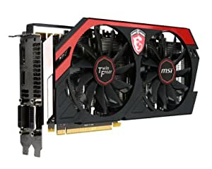 MSI N770 Twin Frozen 4GD5/OC Carte graphique NVIDIA GeForce GTX N770 1098 MHz 4096 Mo PCI-Express