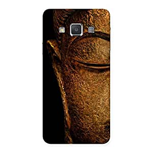 Gorgeous Lord Buddha Multicolor Back Case Cover for Galaxy A3