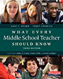 img - for What Every Middle School Teacher Should Know, Third Edition book / textbook / text book