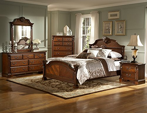 Luxus-Schlafzimmer-Set-Massivholz-Stil-Antik-Barock-Rokkoko-Louis-XV-XVI-Klassische-Handgefertigt
