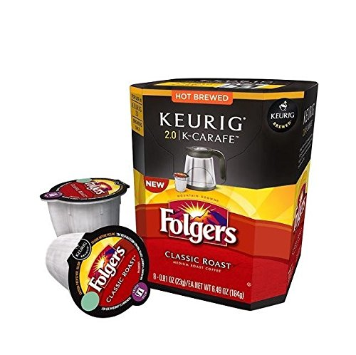 Keurig 2.0 Folgers Gourmet Selections® Classic Roast Coffee , K-Carafe Packs (16) (Folgers Gourmet Classic Roast compare prices)