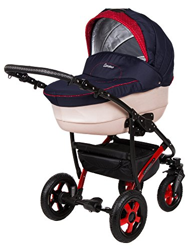 Baby-Pram-Pushchair-Stroller-Buggy-Travel-System-Camarelo-Carera-Ca13-3in1