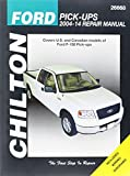 img - for Chilton Ford Pick-Ups 2004-14 Repair Manual: Covers U.S. and Canadian models of Ford F-150 Pick-ups 2004 through 2014: Does no include F-250, Super ... (Chilton's Total Car Care Repair Manual) book / textbook / text book