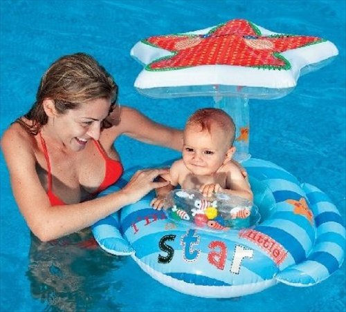 Intex 56582EP Inflatable Lil' Star Baby Float,