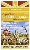 Sharpham Park Organic Spelt Porridge 500 g (Pack of 4)