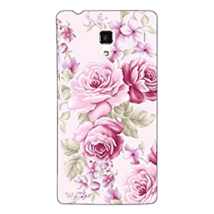 Jugaaduu Floral Pattern Back Cover Case For Redmi 1S