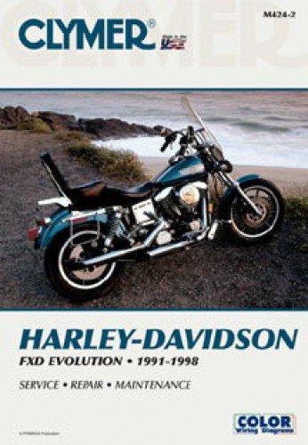 M424-2 1991-1998 Harley-Davidson Dyna Glide Clymer Motorcycle Repair Manual PDF