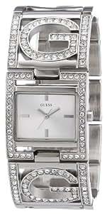 Guess - W13074L1 - Montre Femme - Quartz Analogique - Cadran Argent - Bracelet Acier Argent