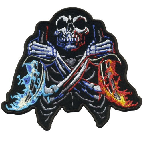 Hot Leathers Fire Daggers Patch (11