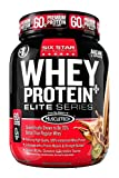 Six Star Pro Nutrition Elite Series Whey Protein Powder , Triple Chocolate, 2 lb.