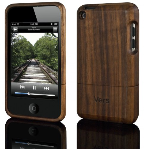 Vers Audio wood case - Slimcase for iPod touch 4 Natural Walnut