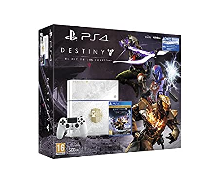 PlayStation 4 - Consola 500 GB + Destiny: The Taken King - Edición Especial