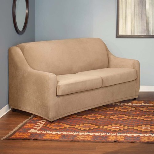 Stretch Pearson Sleeper Sofa Cover - Queen front-989001