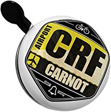 Bicycle Bell Airportcode CRF Carnot by NEONBLOND