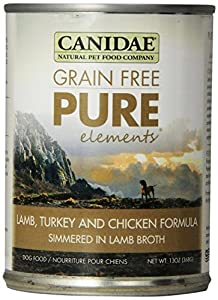 Canidae 12-Pack Canned Dog Food for All Life Stages, Grain Free Formula, 13-Ounce Can