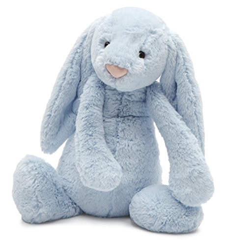 Jellycat Bashful Blue Bunny, Large - 14 inches (Blue Bunnies compare prices)