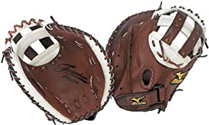 Mizuno Franchise Pro GXS92 Fastpitch Catcher's Mitt, Brown , 34-Inch, Left Handed Throw