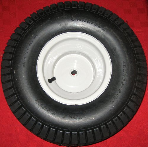 NEW 20x8 Rear Tire and Wheel Rim Assembly for Mtd, Gold, Troy-bilt, Huskee, Yard-man, White Outdoor, Bolens, Yard Machines Riding Lawn Mower Tractor