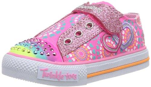 Skechers Love Burst Neon/Pink/Multi 10268N/NPMT sz. 7