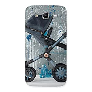 Cute Denim Baby Print Back Case Cover for Galaxy Mega 5.8