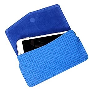 Dooda PU Leather Flip Pouch Case For Spice Stellar 516