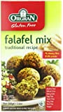 OrgraN Falafel Mix, Traditional Recipe, 7-Ounce Boxes (Pack of 8)