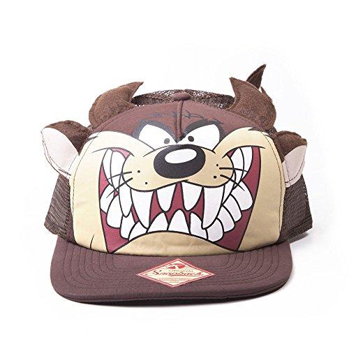 NUOVO LOONEY TUNES 2D Tasmanian Devil Big Face Cappellino