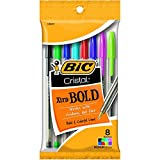 Bic MSBAP81-AST BIC Crystal Extra Bold Assorted Colors 8 Count (Color: Multi)