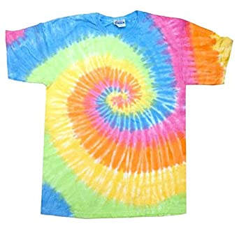 buy cool shirts tie dye shirt pastel eternity swirl t