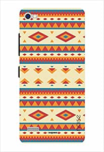 Noise Red And White Carpet Print Printed Cover for Lenovo Vibe X2