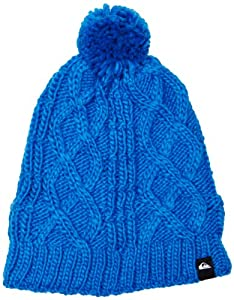 Quiksilver Boy's Planter Beanie - Blue, One Size