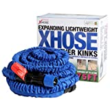 #7: New XHOSE 75ft Expandable Garden Hose To 3 Times Its Size Auto Retract Non Kink