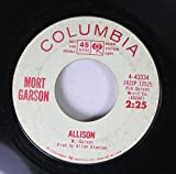 mort garson 45 RPM allison / la nobile arte