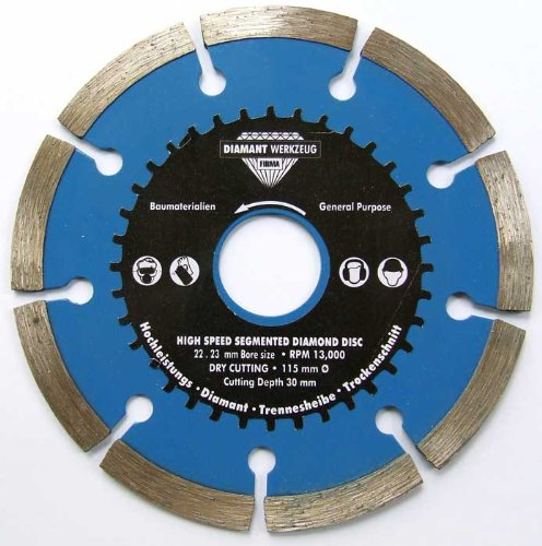 Angle Grinder Diamond Tile Cutting Disc Blade 115mm