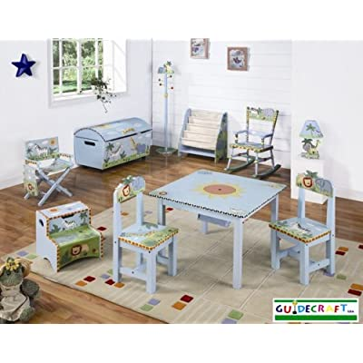Kids Safari Themed Bedroom