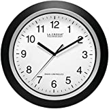 La Crosse Technology WT-3129B  12-Inch Atomic Analog Wall Clock (Black)